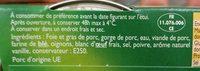 Pack 3X1 / 10 Pate Campagne William Saurin - Ingrédients - fr