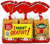 Panzani Penne Rigate 2x500g +1 Paquet Gratuit - Produit
