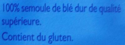 Graine de Couscous Fin (+ 25 % Gratuit) - Ingredients - fr
