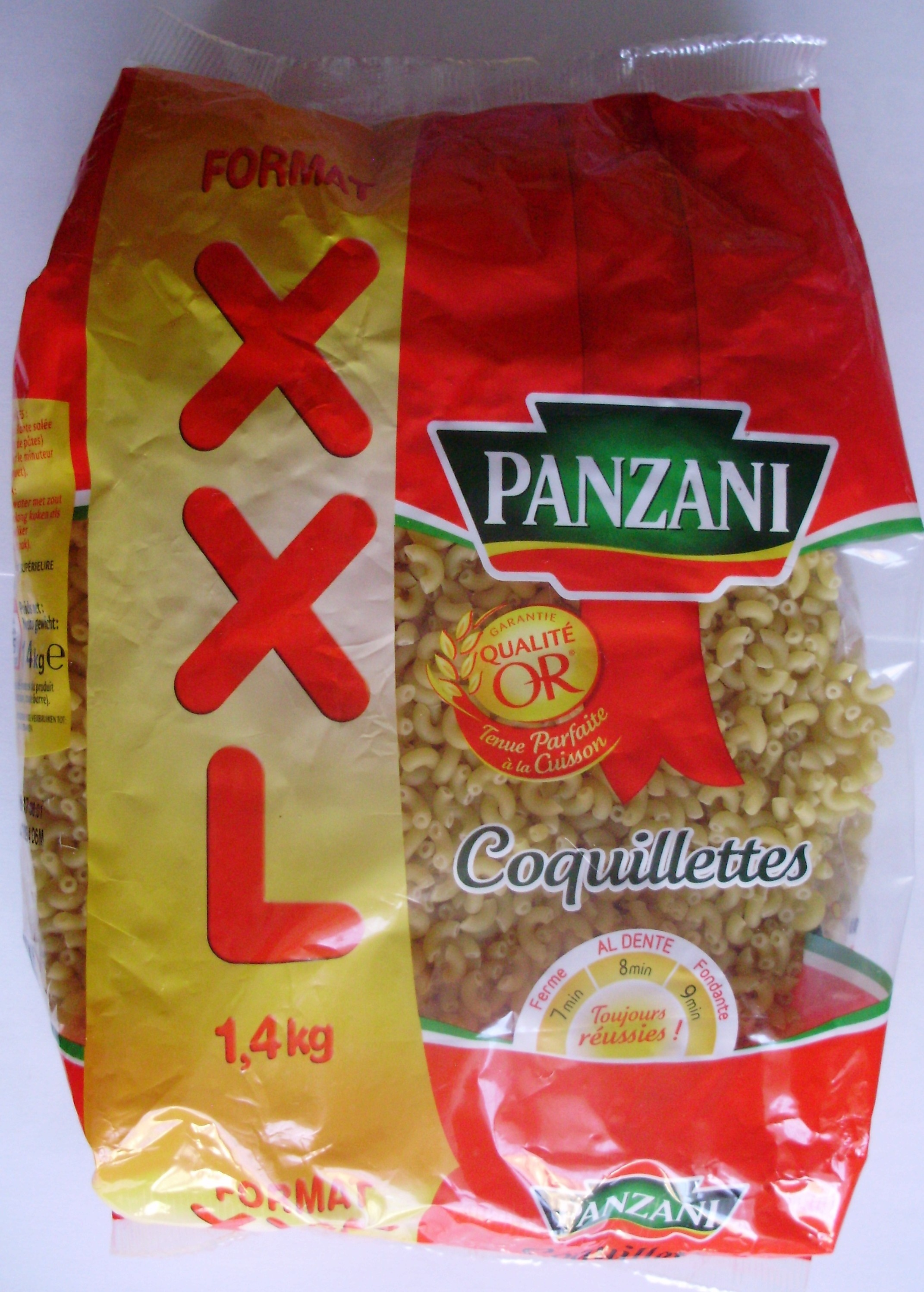 Panzani coquillettes 1,4kg - Produit - fr