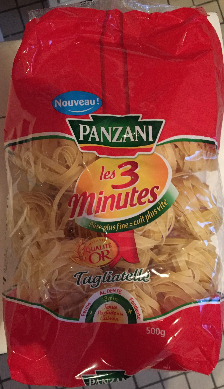 Les 3 Minutes, Tagliatelle - Produit