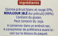 Quinoa Facile - Ingredients