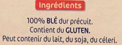 Lustucru boulgour facile - Ingredienti - fr
