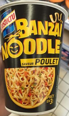 Banzaï Noodle saveur Poulet - Produkt