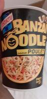 Banzaï Noodle saveur Poulet - Product - fr