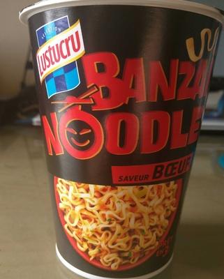 Banzaï Noodle Saveur Boeuf - Produit