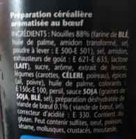 Banzai noodle - Ingredients - fr