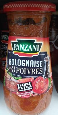 Bolognaise aux 3 poivres - Produit - fr