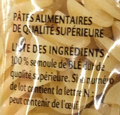 Gourmet Torti - Ingredients