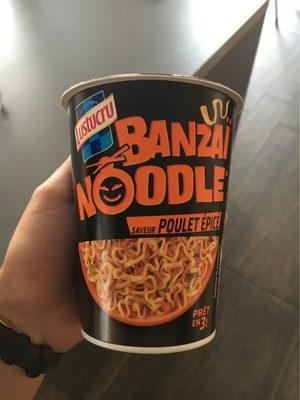Banzaï Noodle Saveur poulet epicé - Product