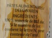 Panzani linguine - Ingrediënten
