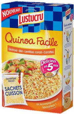 Lustucru quinoa facile quinoa ble lentilles corails carottes - Produit - fr