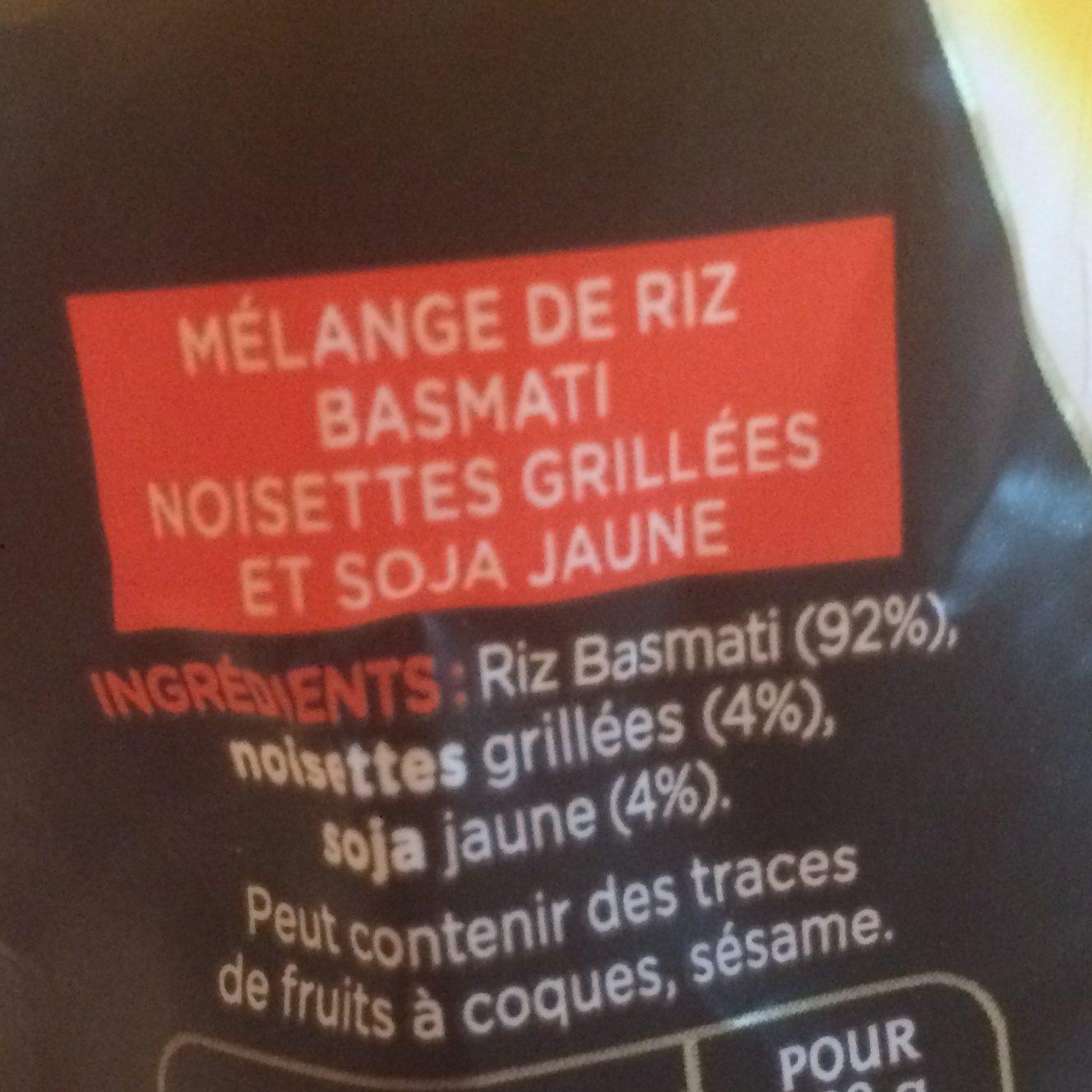 Basmati & noisettes grillées - Ingrédients - fr