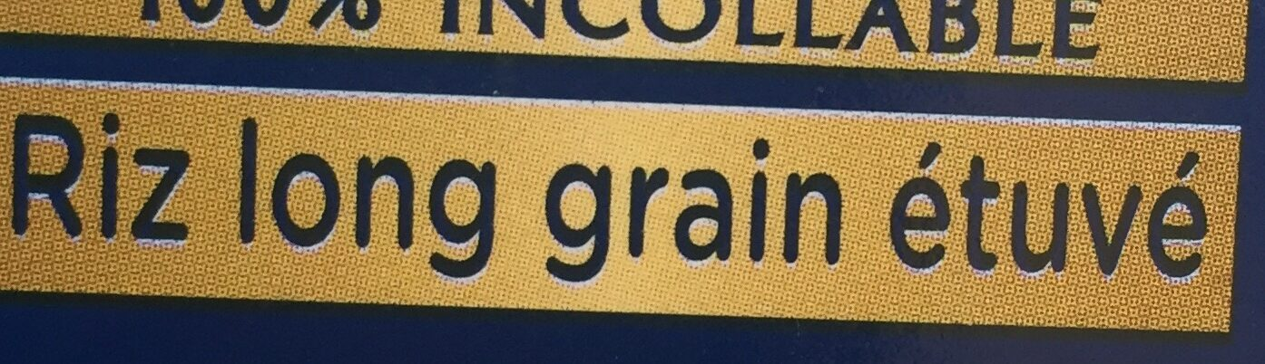 Riz Le long grain d'exception 100% incollable - Ingrédients - fr