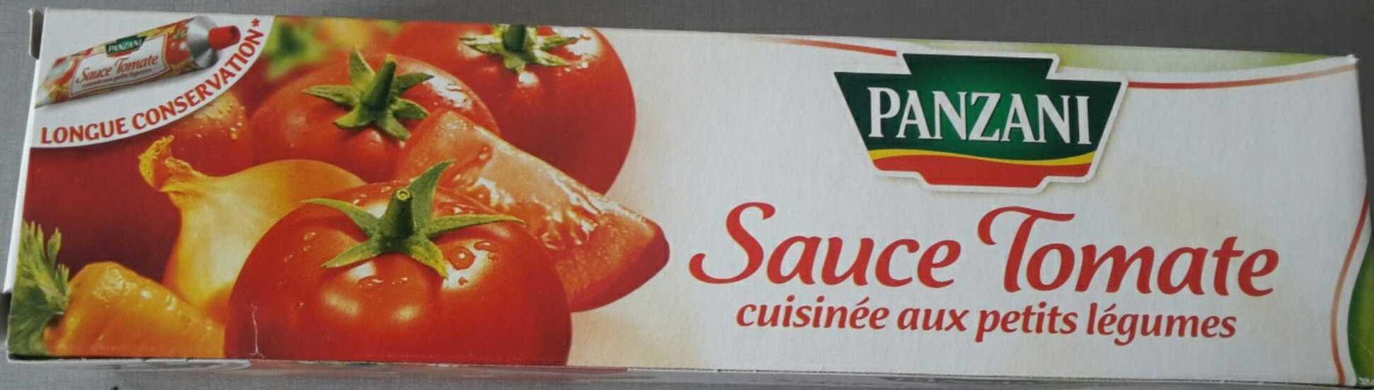 Sauce tomate cuisinée aux petits légumes - Produit