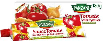 Panzani - Sauce tomate cuisinée aux petits légumes en tube - Product - fr