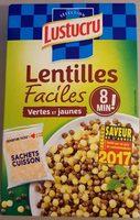 Lentilles faciles - Product - fr