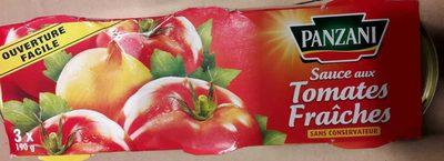 Sauce aux tomates fraiches - Produit