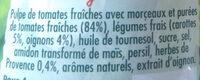 Sauce Provençale - Ingredients - fr