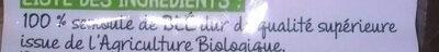 Torti bio - Ingredients - fr