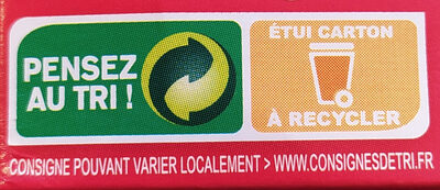 Ta mediterranee kg v2 c12 - Recycling instructions and/or packaging information - fr