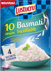 Lustucru riz basmati 10 min sachets 360g (4x90g) - Product