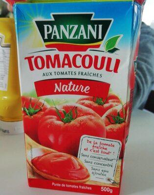 Tomacouli Nature - Produit