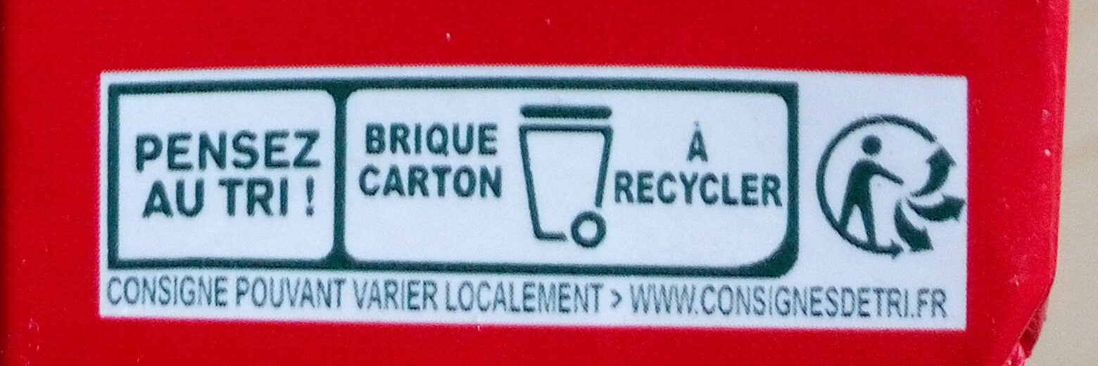 Tomacouli nature - Instruction de recyclage et/ou informations d'emballage - fr