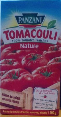 Tomacouli nature - Product - fr