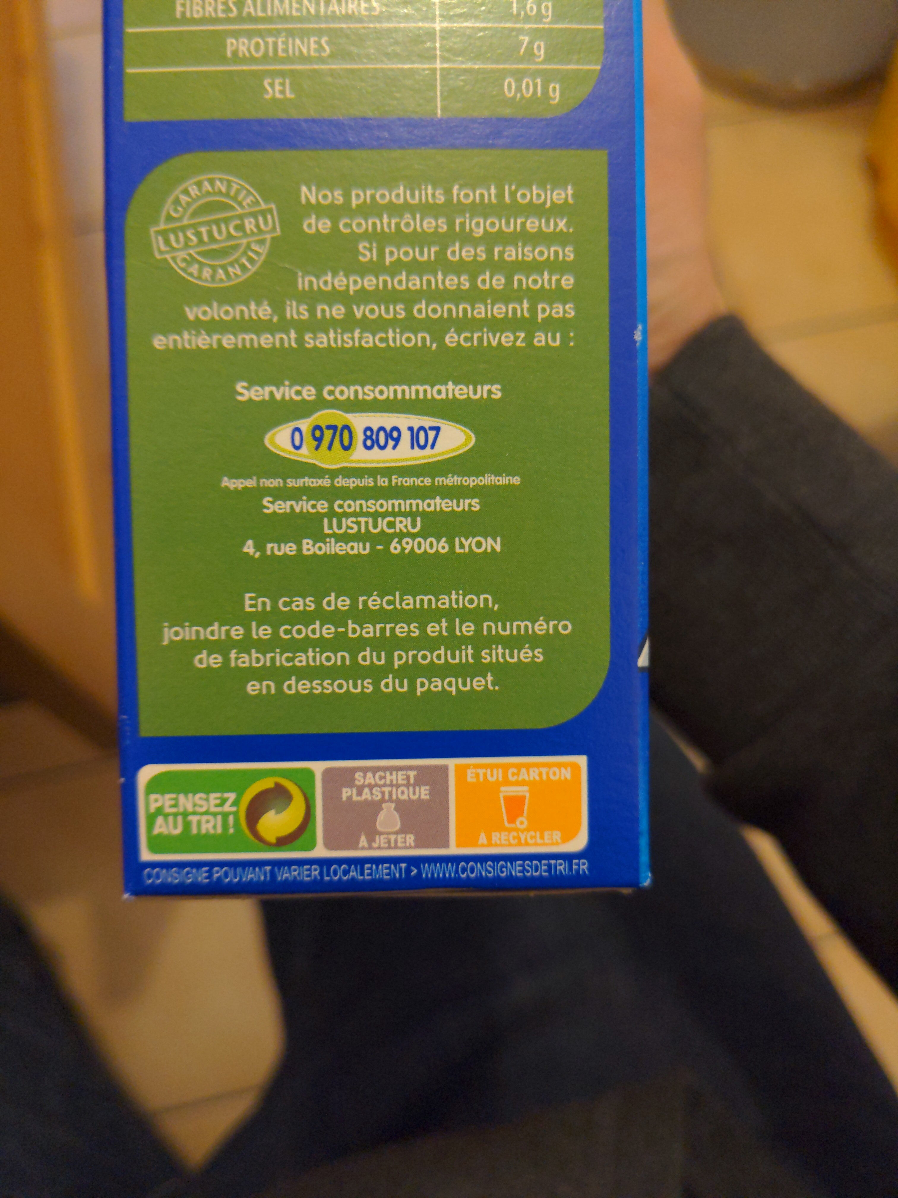 Riz Long Grain Incollable - Instruction de recyclage et/ou information d'emballage - fr