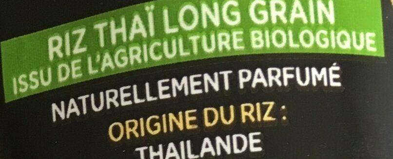 Riz thaï bio - Ingredienti - fr