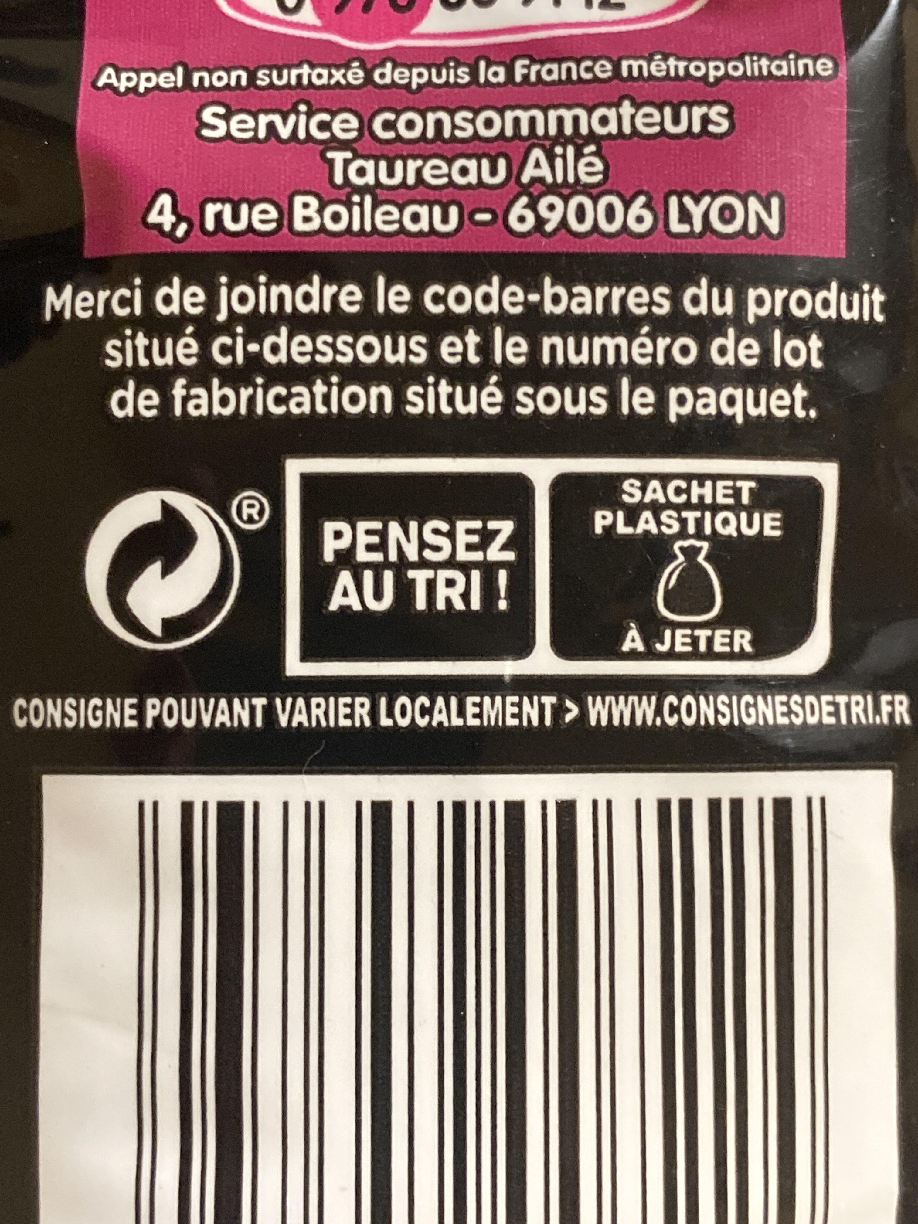 Le Basmati du Penjab - Pure Origine - L'Original - Instruction de recyclage et/ou information d'emballage - en