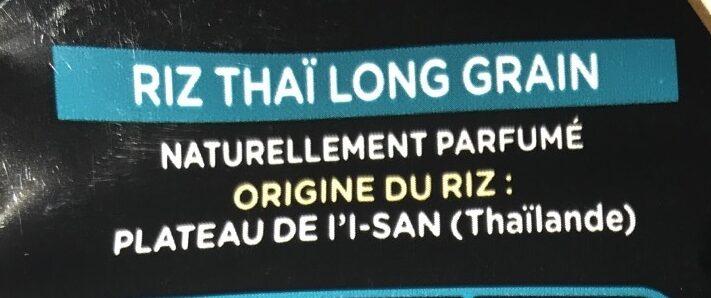 Riz thaï - Ingredienti - fr