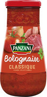 Sauce Panzani Bolognaise Classique - Produit - fr