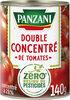 """"""" panzani - concentré de tomates """"""""0 résidu de pesticides"""""""" 140g"""" - Product"""