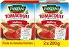 Panzani - Purée de tomates nature Tomacouli 2x200g - Product