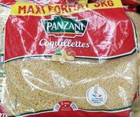 Pates panzani coquillettes 3 kg - Produit - fr