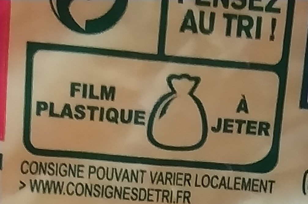 Pates panzani coquillettes 3 kg - Instruction de recyclage et/ou informations d'emballage - fr