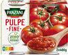 Pulpe fine Zéro résidu de pesticides 2x400g - Product