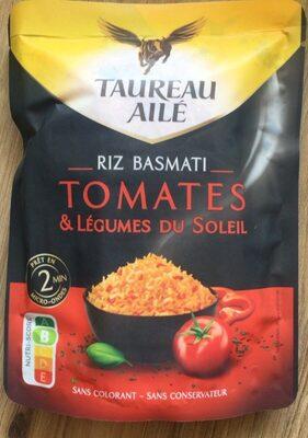 Ta basmati tomate 2' 250g pav6 - Produit - fr