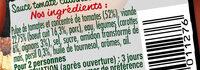 Bolognaise Extra riche - Ingrediënten - fr