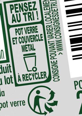 Bolognaise Extra riche - Recyclinginstructies en / of verpakkingsinformatie - fr