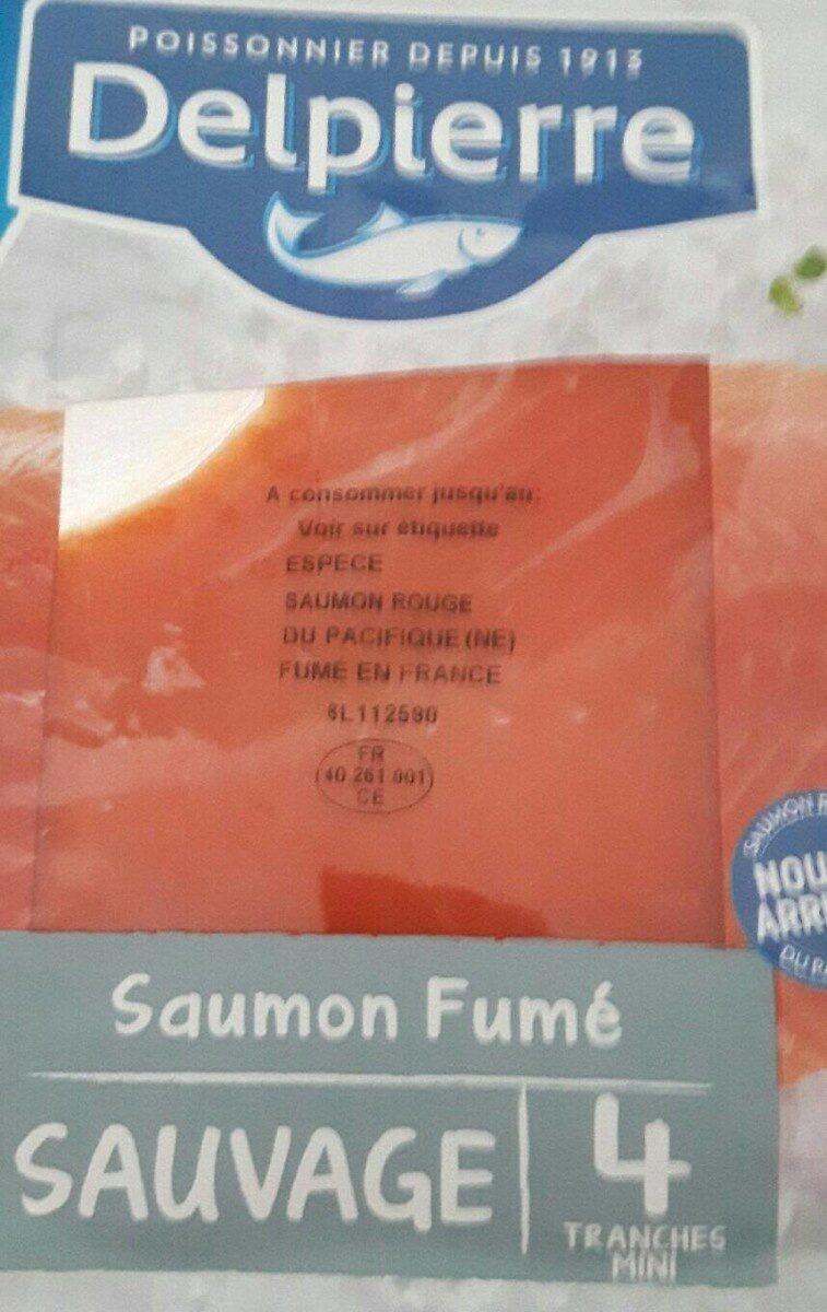 Saumon fumé sauvage - Produit - fr