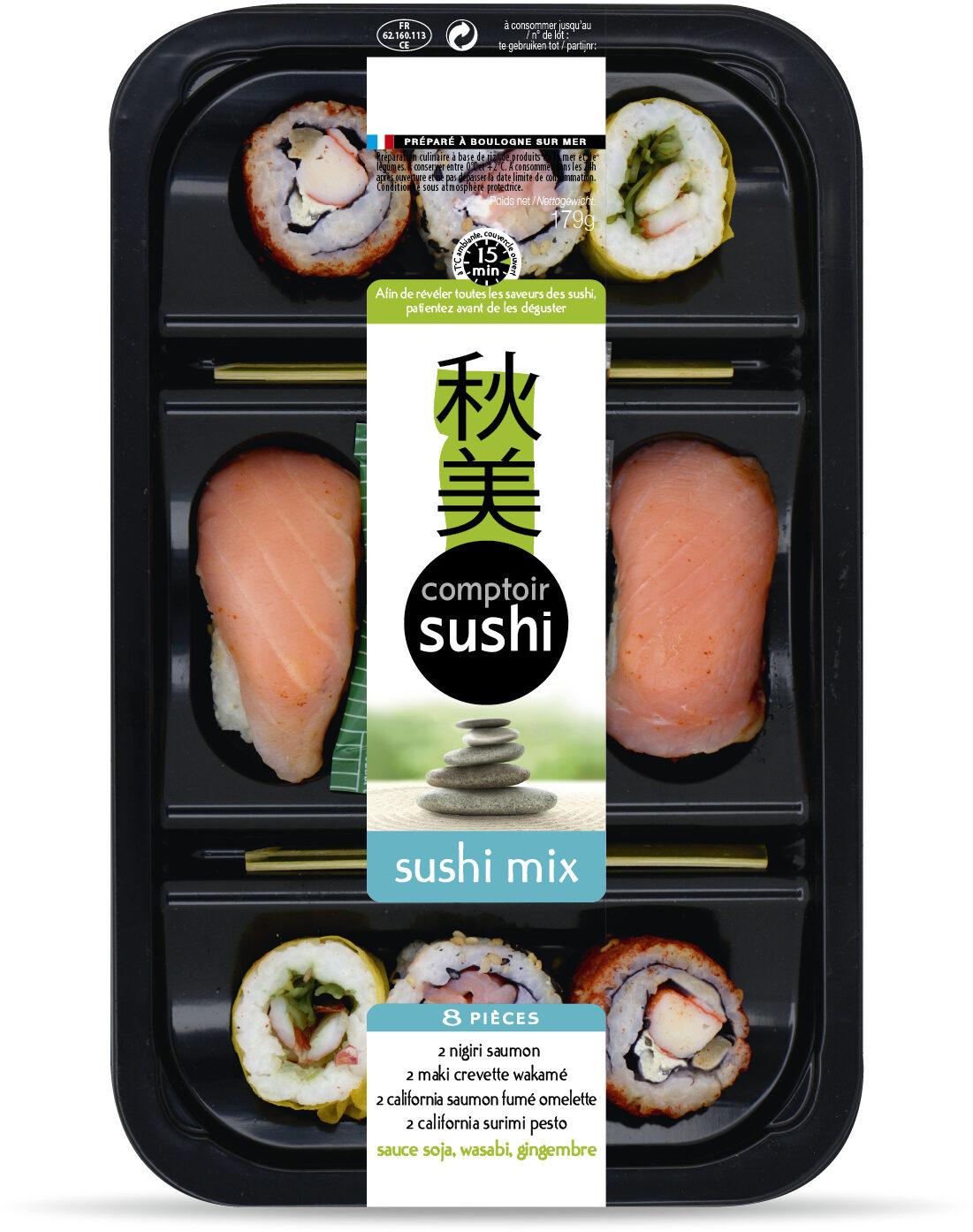 Sushi Mix 8 pièces - Product - fr