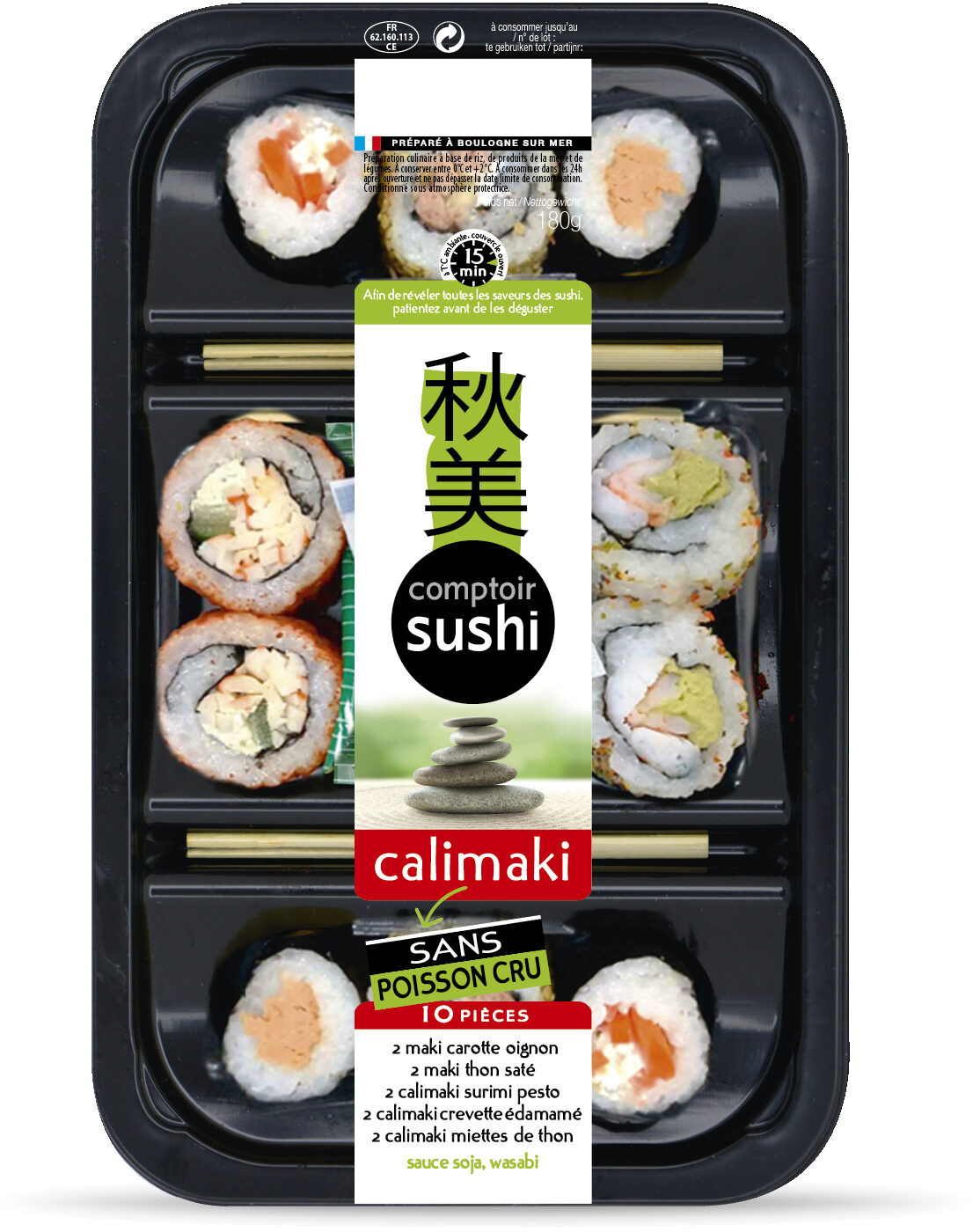 Calimaki sans poisson cru - Product - fr