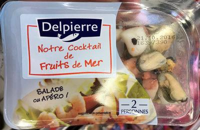 Notre cocktail de fruits de mer Salade ou Apéro - Product - fr