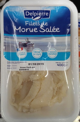Filets de morue salée - Product