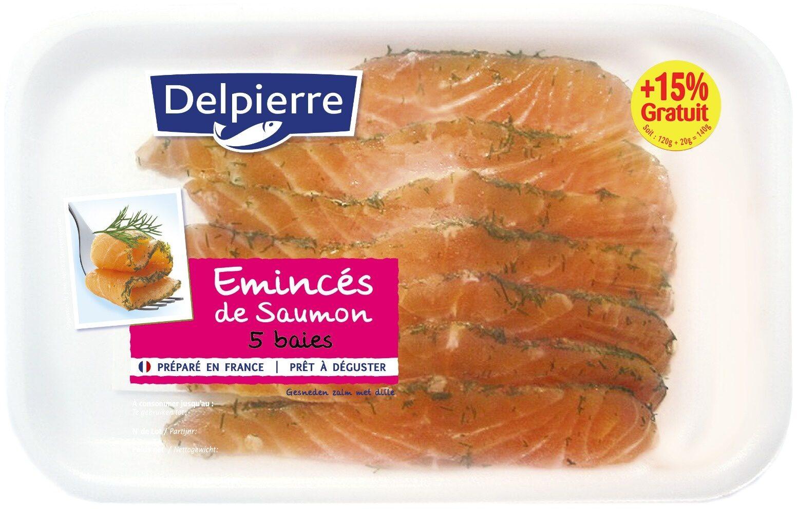 Emincés de saumon 5 baies 140 g - Product - fr