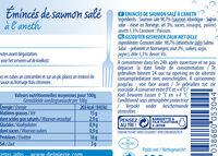 Emincés de Saumon à l'aneth - Ingrediënten