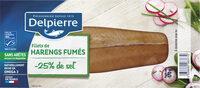 Filets de harengs fumé allégés en sel Delpierre - Prodotto - fr